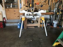 Miter saw with stand in Fort Riley, Kansas