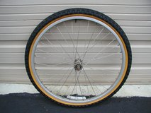 "26"" Bicycle Spoked Aluminum Wheel & Tire (New) in Cherry Point, North Carolina"