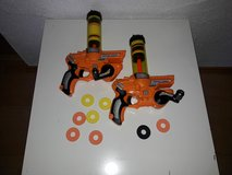2 x CRANKING CANNON toy rifle soft targets in Baumholder, GE