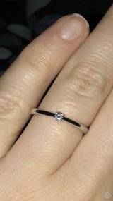 Ladies diamond ring with certificate in Grafenwoehr, GE