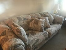 Large comfy sofa in Naperville, Illinois