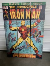 6' iron man double sided room separator in Alamogordo, New Mexico
