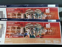 2 Tickets for Havana Nights - dance musical in Ramstein, Germany