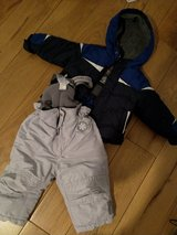 Snow pants 9 months and Jacket in Stuttgart, GE