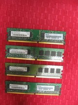 512 Mb PC2 4200U Memory (4 count) in Kingwood, Texas