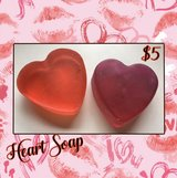 Heart Shaped Valentine Soap in Fort Campbell, Kentucky