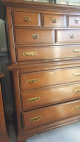 BASSETT Chest and dresser with mirror(credit card accepted in Camp Lejeune, North Carolina