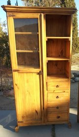 All wood cabinet in 29 Palms, California