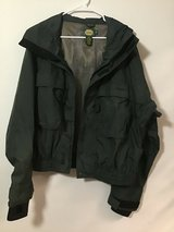 Cabellas wading jacket,green, size XL, lined in Houston, Texas