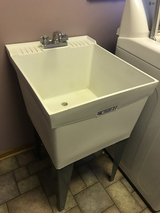 Laundry Room Utility Sink in Aurora, Illinois