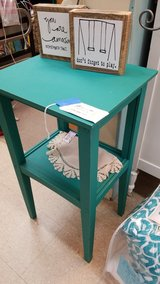 Tall Teal Table in Camp Lejeune, North Carolina