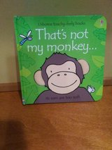 Usborne Touchy Feely Thats Not My Monkey in Naperville, Illinois