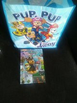 Paw Patrol Little Find Book and Bag in Naperville, Illinois