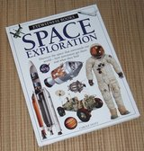 Vintage 1997 Space Exploration Eyewitness Books Hard Cover in Plainfield, Illinois