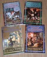 The Chronicles of Prydain Series by Alexander Lloyd Lot of 4 Soft Cover Books #'s 2 3 4 5 in Plainfield, Illinois