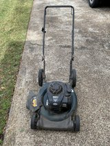 Lawn mower, edger and weed eater in Houston, Texas