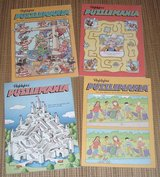 NEW Vintage Lot of (4) 1991 & 2002 Highlights Puzzle Mania Activity Book Set in Plainfield, Illinois