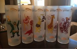 Vintage Circus Glasses in Shorewood, Illinois