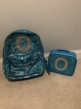 Justice backpack and lunch tote in Naperville, Illinois