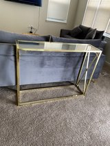 console table GOLD in Fort Bragg, North Carolina