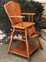 Vintage High Chair in Oswego, Illinois