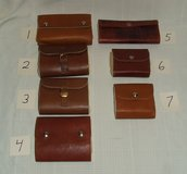 Handmade Fly Fishing Lure Leather Cases / Wool Interior ~ Quality ~ Assortment ~ NEW in Naperville, Illinois