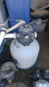 intex pool pump salt system for above ground pools in Camp Pendleton, California