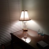 Waterford table lamp in St. Charles, Illinois