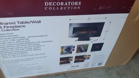 WALL MOUNT OR COUNTER TOP ELECTRIC FIREPLACE in Elizabethtown, Kentucky