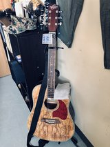 Oscar Schmidt Acoustic Guitar/Case/Stand in San Diego, California