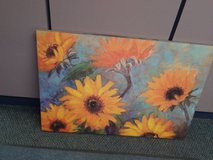 sunflower wall picture in Tinley Park, Illinois