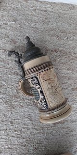 antique german beer stein in Stuttgart, GE