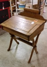 Antique Salesman sample desk in Fort Campbell, Kentucky