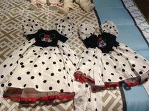 2 Minnie Costumes (3T and 5&6 years) ideal for Karneval in Ramstein, Germany