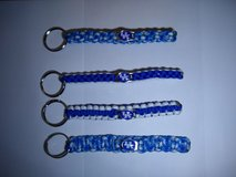 Paracord Key chains for U of K fans or key chains for anyone in Elizabethtown, Kentucky