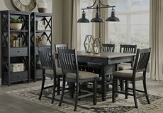 ?? ??$39 down payment??- Tyler Creek Black/Gray Counter Height Set | D736 in Fort Meade, Maryland