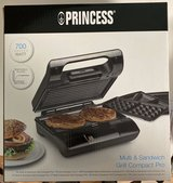 Princess Multi/Sandwich Grill Compact Pro in Ramstein, Germany