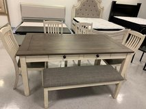 ?? ??$39 down payment??- Willowbend White Dining Set | 5627 in Fort Meade, Maryland
