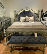 ?? ??$39 down payment??- Opulent Silver Bedroom Set | B878 in Fort Meade, Maryland