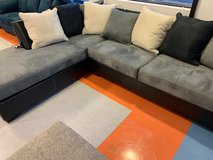 ?? ??$39 down payment??- Jacurso Charcoal/Black Sectional in Fort Meade, Maryland