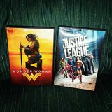 wonder woman and justice league dvds in Alamogordo, New Mexico