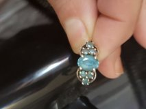 Blue Topaz Ring size 7 in Fort Lewis, Washington