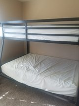 IMMEDIATE move out sale good as new queen bunkbed in Pasadena, Texas
