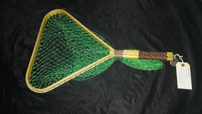 Vintage styled, hand made fishing landing net in Kingwood, Texas