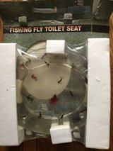 So Cool fly fisherman's toilet seat new in packaging in Oswego, Illinois