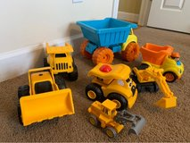 Construction toys lot in Cherry Point, North Carolina