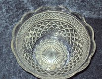 Vintage Cut-Glass Bowl in Alamogordo, New Mexico