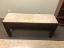 Long Heavy Marble Top Table in Aurora, Illinois