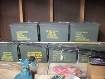 military ammo cans in Moody AFB, Georgia