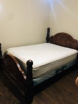 bed frame and mattress in Macon, Georgia